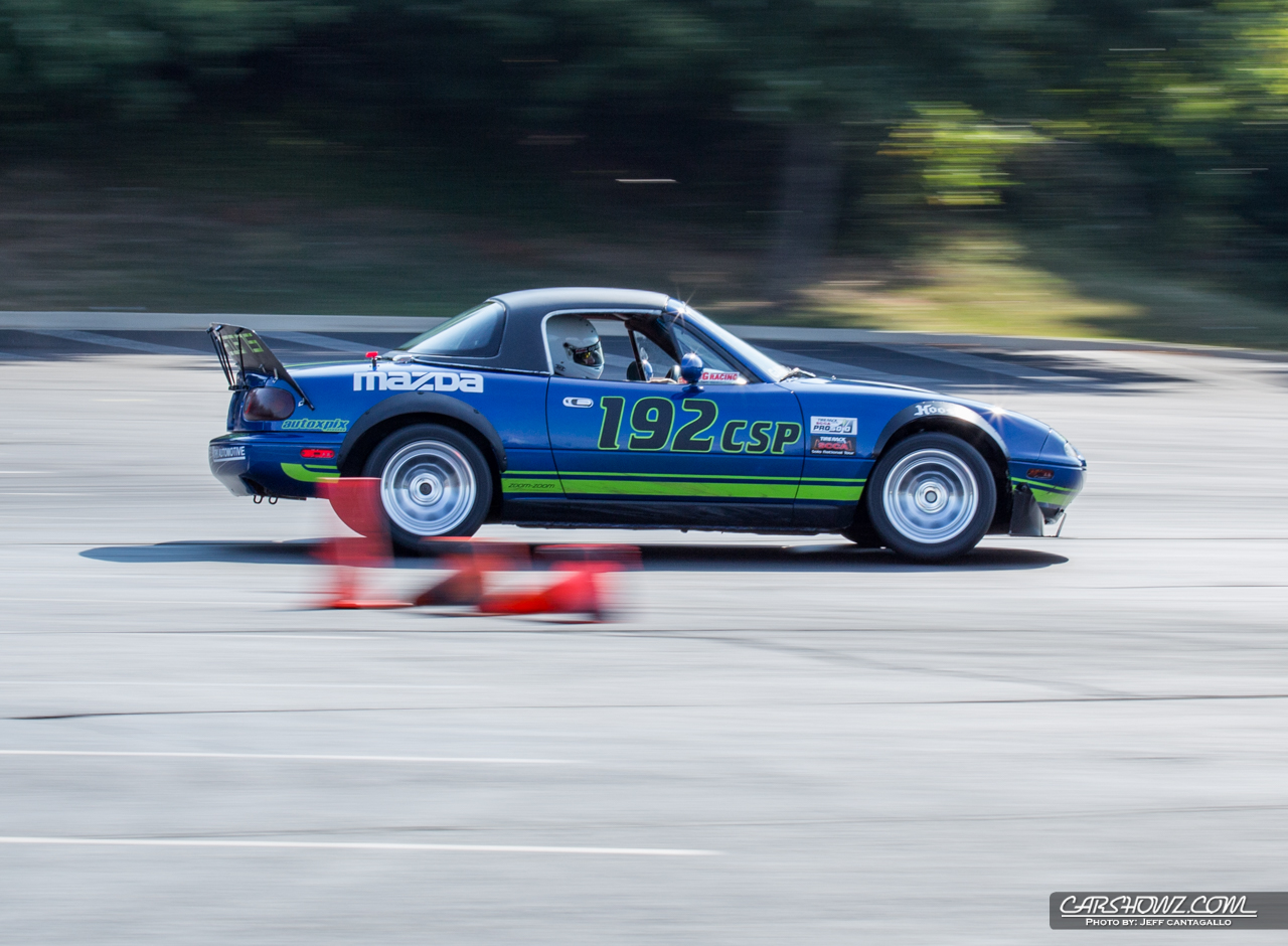 SCCA Auto Cross - Garfield Family