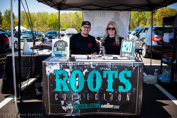 Brandon Fugitt and wife Brittany - Roots Booth