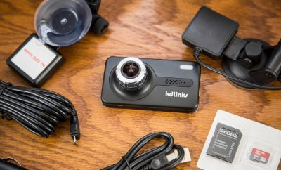KDLINKS X1 Full HD Dash Cam Full Kit