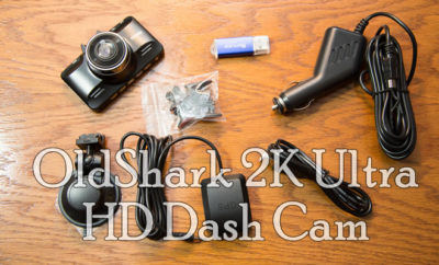 OldShark 2K Ultra HD Car Dash Cam