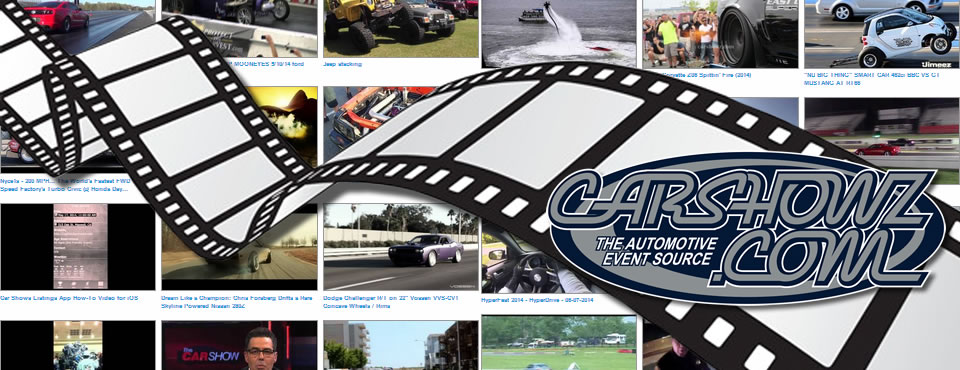 Car Show and Racing Videos