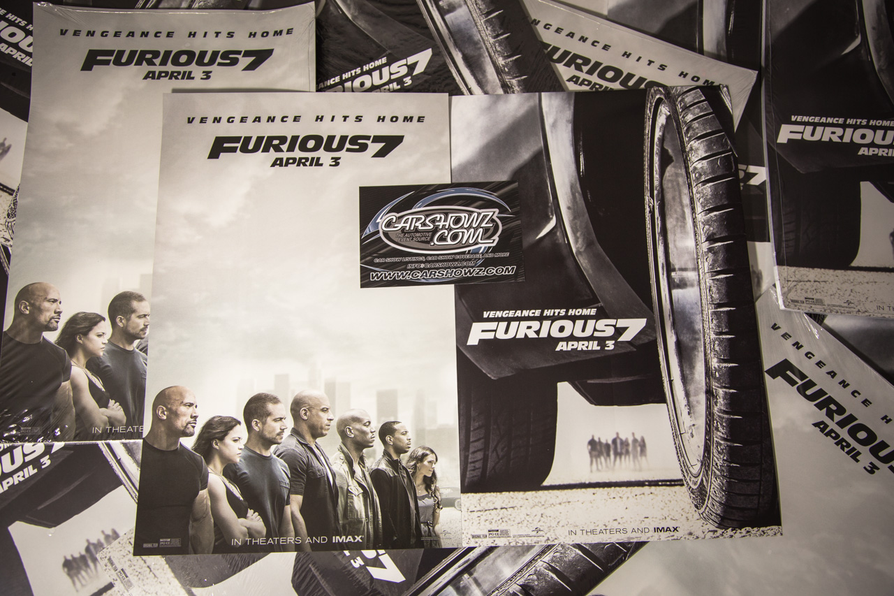Furious 7 Promotions Posters