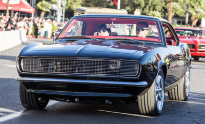 SEMA 2016 Roll Out Parade Photos - Dave Kindig