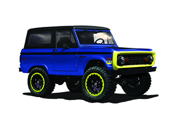 WD-40 Vaccar Ford Bronco SEMA 2017 Build