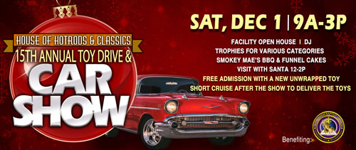 House of Hotrods & Classics Car Show