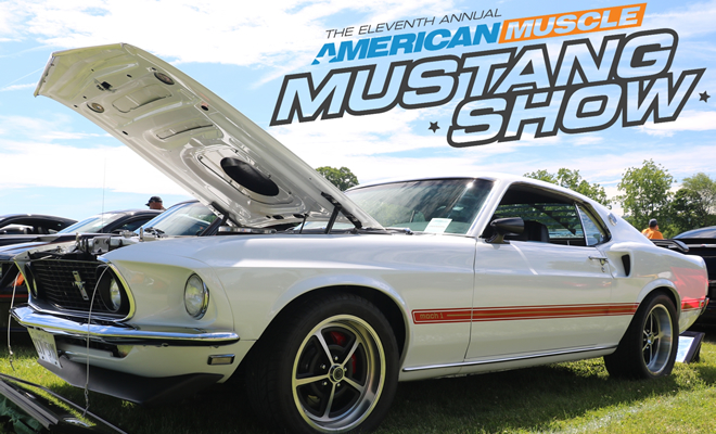 American Muscle Mustang Show