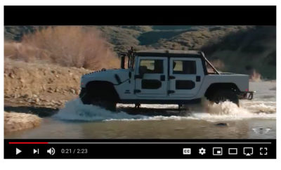MIL-SPEC Automotive Custom H1 Hummer Cover
