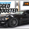 Bagged and Boosted S550 Mustang