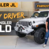 Trail-ready White JLU Wrangler