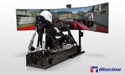 Earnhardt Jr. IndyCar iRacing