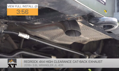 RedRock High-Clearance Cat-Back Exhaust