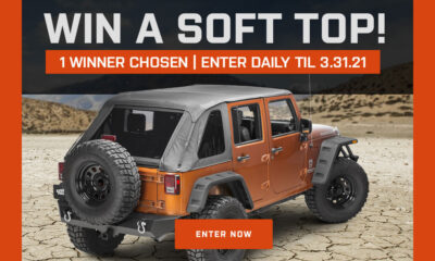 $1000 Wrangler Soft Top Giveaway