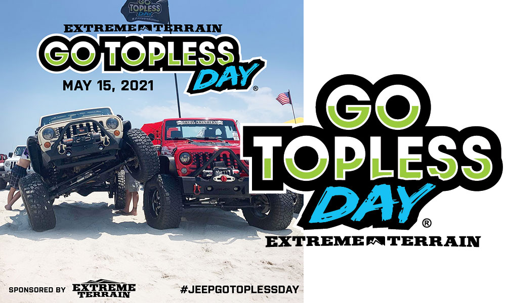 Extreme Terrain Go Topless Day